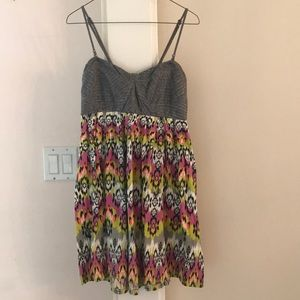 Billabong ikat summer dress